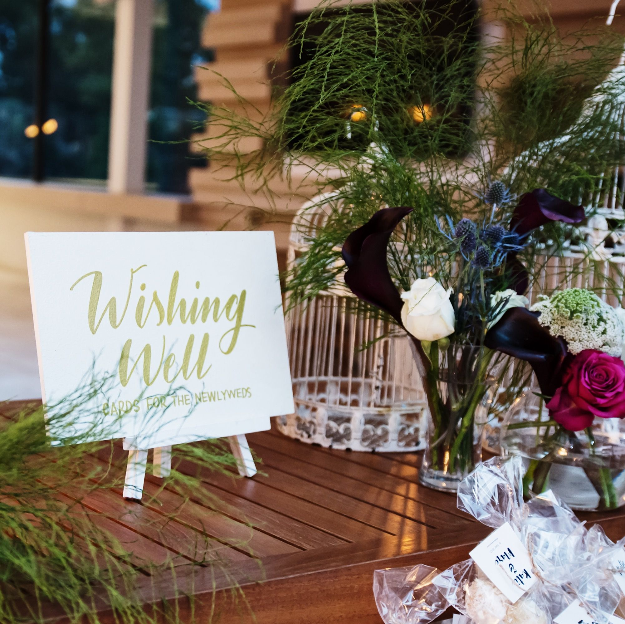 Gorgeous Wishing Well Table Styling For An Outdoor Wedding