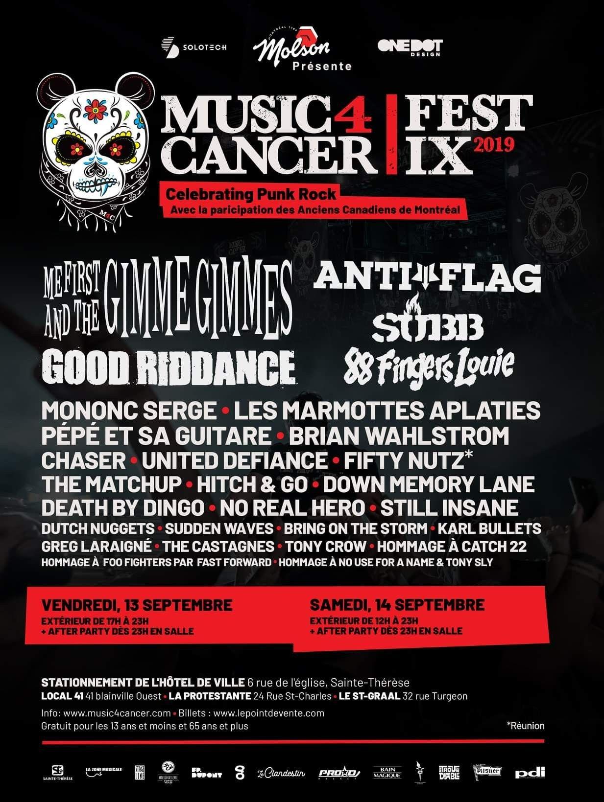 Pin By Benjamin Normandin On Montreal Punk Metal Concert Poster Punk Rock Festival American Festivals Festival