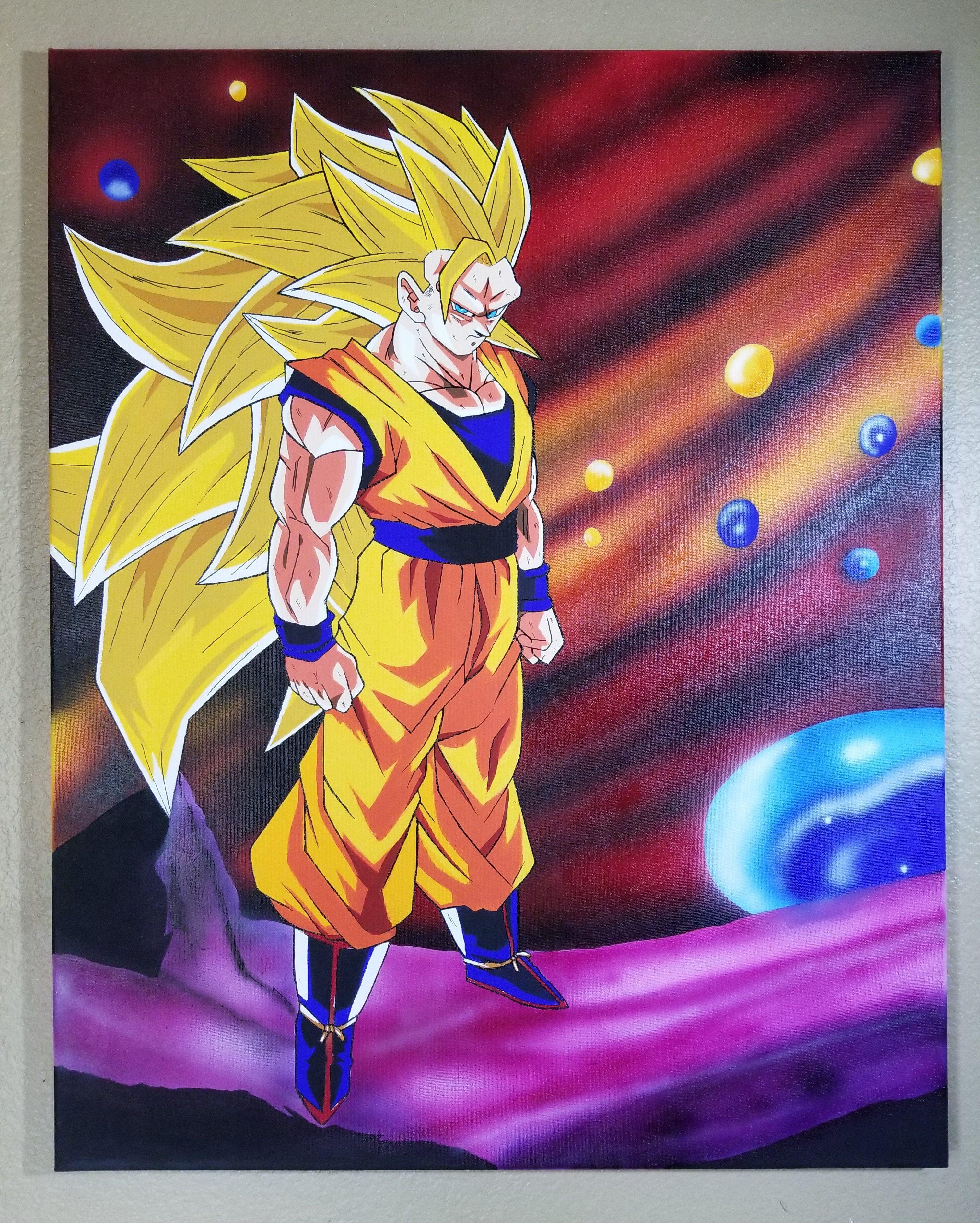 Goku erotic art