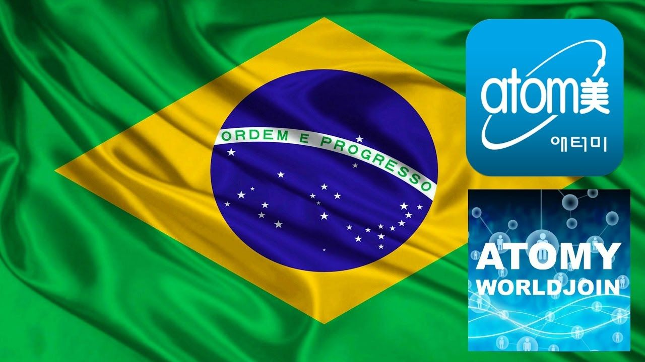 Atomy Brazil (With images) Brazil flag, Brazil colors, Flag