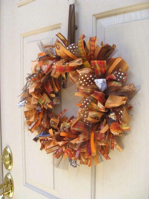 Fall Wreath Ideas Part - 34: 50 Amazing Fall Wreaths! I Heart Nap Time | I Heart Nap Time - Easy