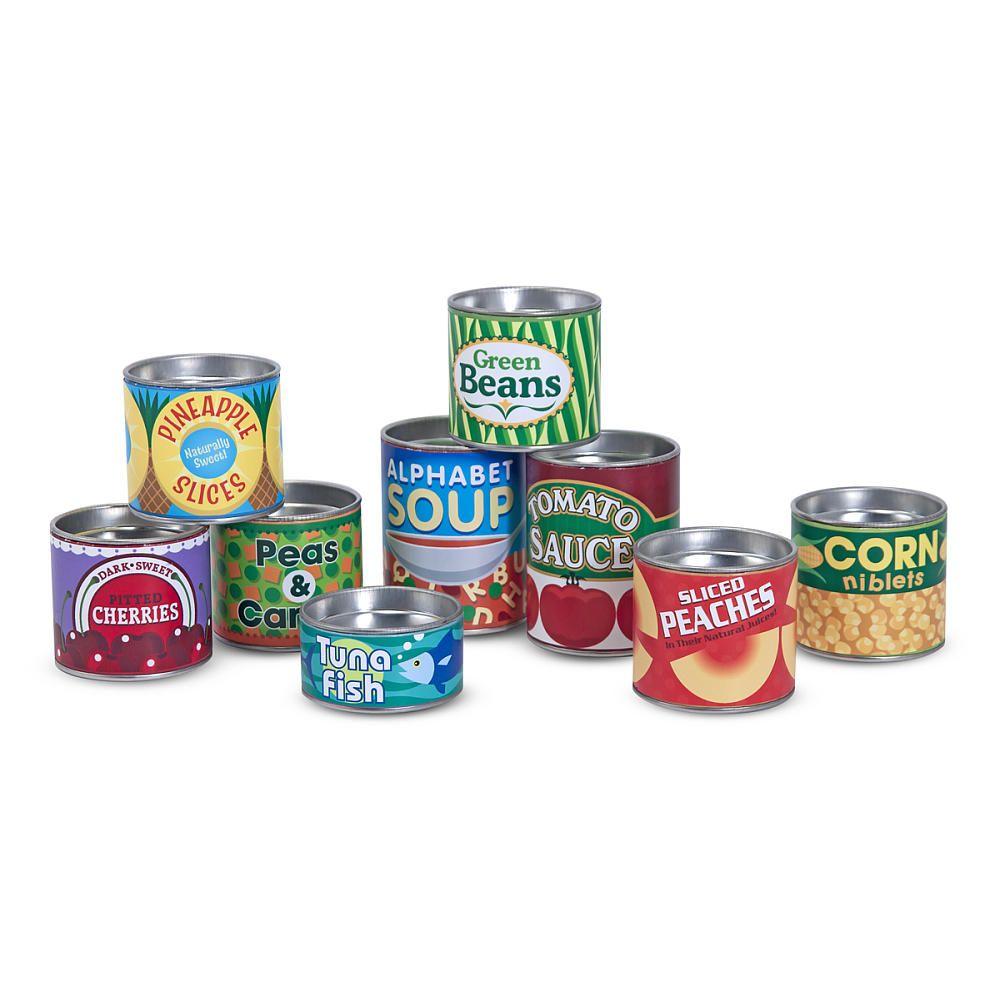 Melissa & Doug Grocery Cans - Melissa & Doug - Toys \
