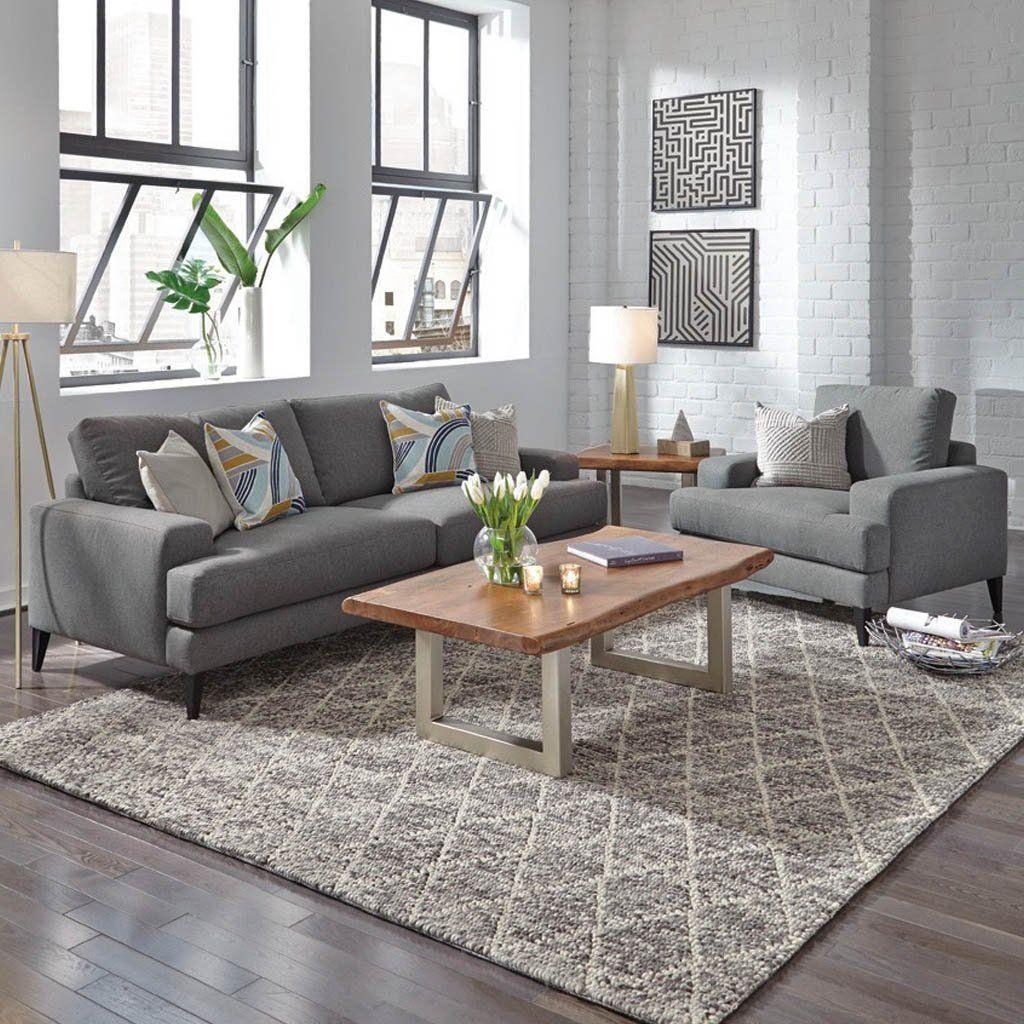 Manhattan Club Chair Dark Gray In 2019 Living Room