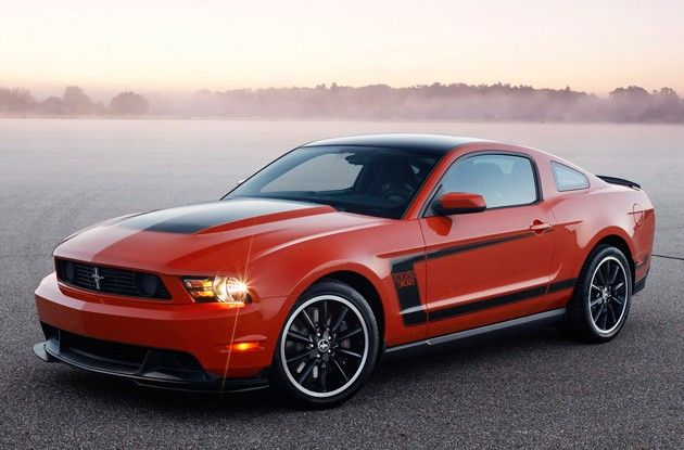Ford Mustang Boss 302 Is Back For 2012 W Video Pinterest