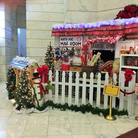 Image result for santa\u0027s mailroom building