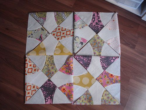 Sew Kind of Wonderful ~ Quick Curve Ruler Quilts | Flickr - Photo Sharing!