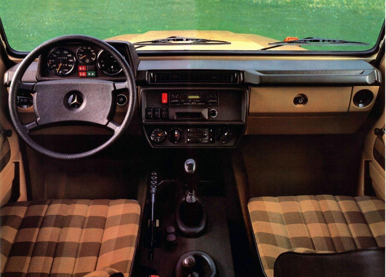 1986 mercedes benz g class
