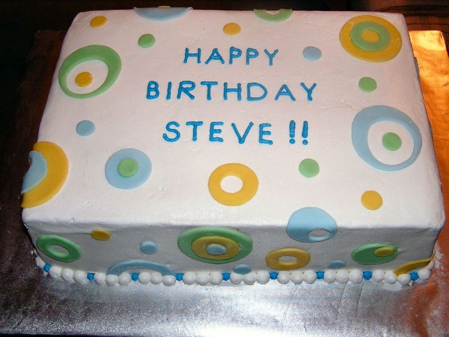 Rectangular Cake Decoration Ideas : Teenage Boy Birthday Cakes 9x13