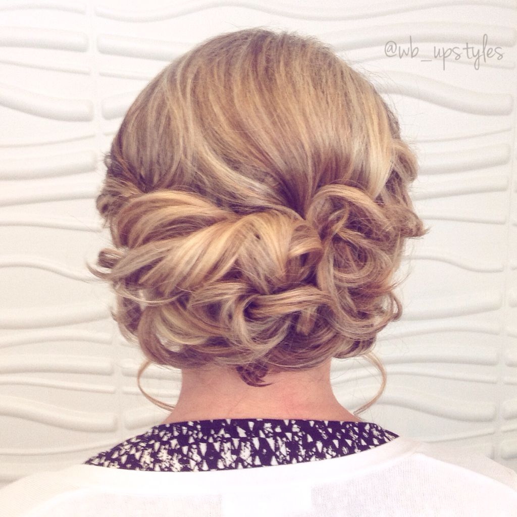 Low Loose Updo Wedding Hairstyle For More Styles Visit