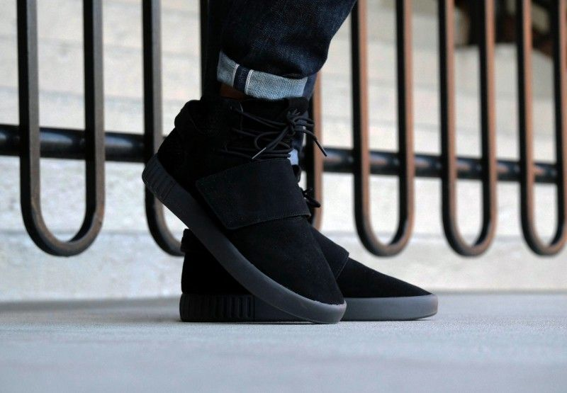 reputable site 4307c b005a Adidas Tubular Invader Strap Core Black - BB8392