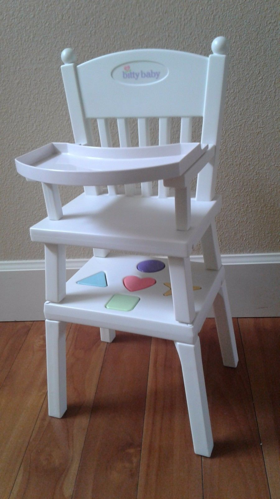bitty baby high chair shapes dc rental retired american girl activity table all 5