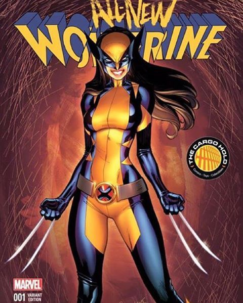 All New Wolverine #1 Variants by Yours truly and nei ruffino  #x23 #comicbook #art #drawing #xmen