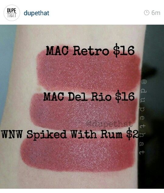 WNW Spiked with Rum   makeup ideas   Eyeshadow dupes