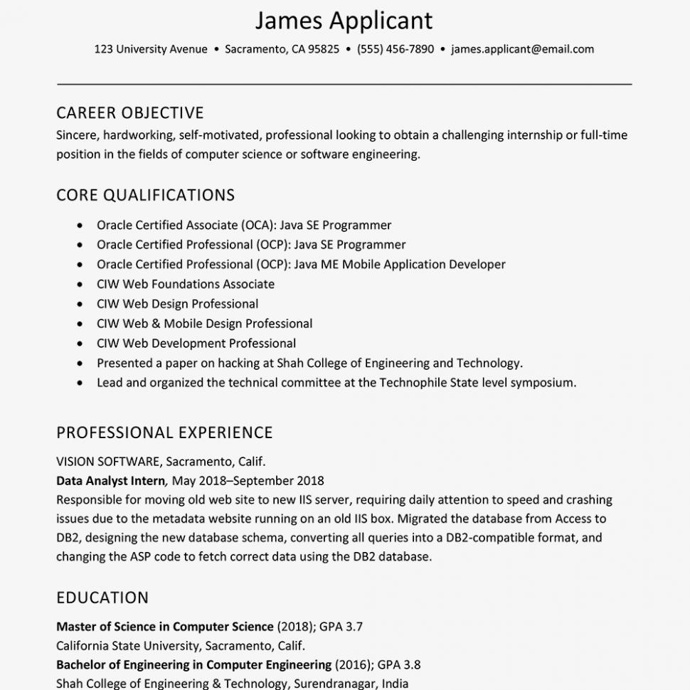 12 Engineer Resume New Graduate Job Resume Samples Resume Format Resume Templates