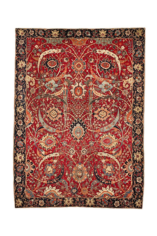 New World Record The Clark Sickle Leaf Vase Carpet Kerman Southeast Persia 16th Century Lot 12 The B Antique Persian Carpet Expensive Rug Rugs On Carpet
