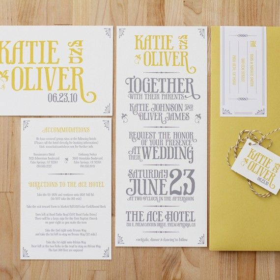 Rustic Invite by 45wall on Etsy, $9.00