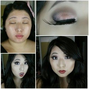 It's Halloween time! Check out this super easy vampire look for your next party!  Read the full entry at www.melissaslife.com