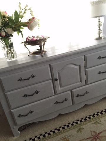 Painted Dresser Annie Sloan Paris Grey Painted Bedroom Furniture Grey Bedroom Furniture Furniture