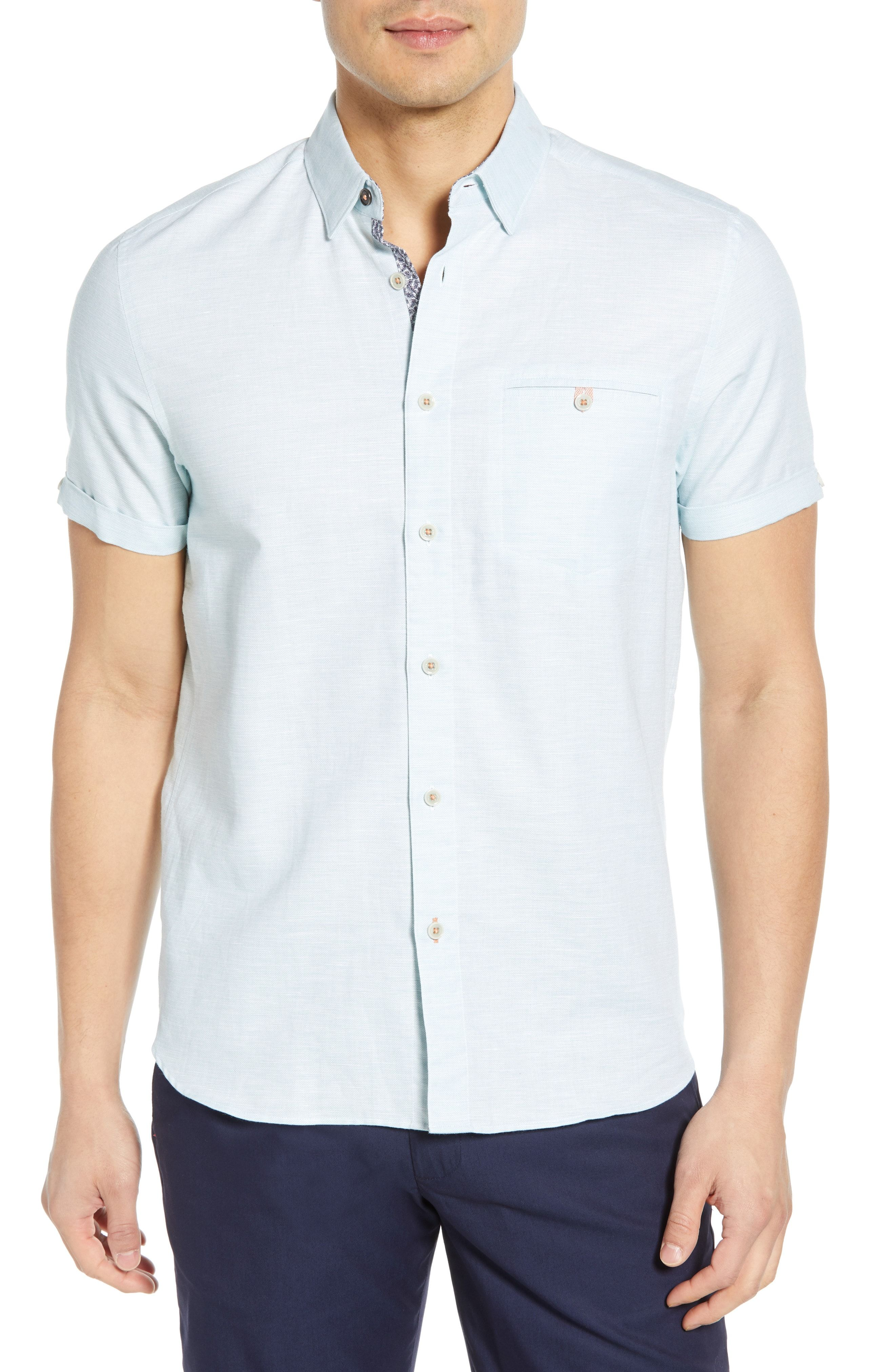 3b565bfd21b642 TED BAKER CLION SLIM FIT SPORT SHIRT.  tedbaker  cloth