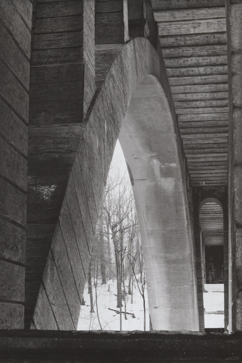 Bridge, Wissahickon, Philadelphia, 1967, Michael A. Smith
