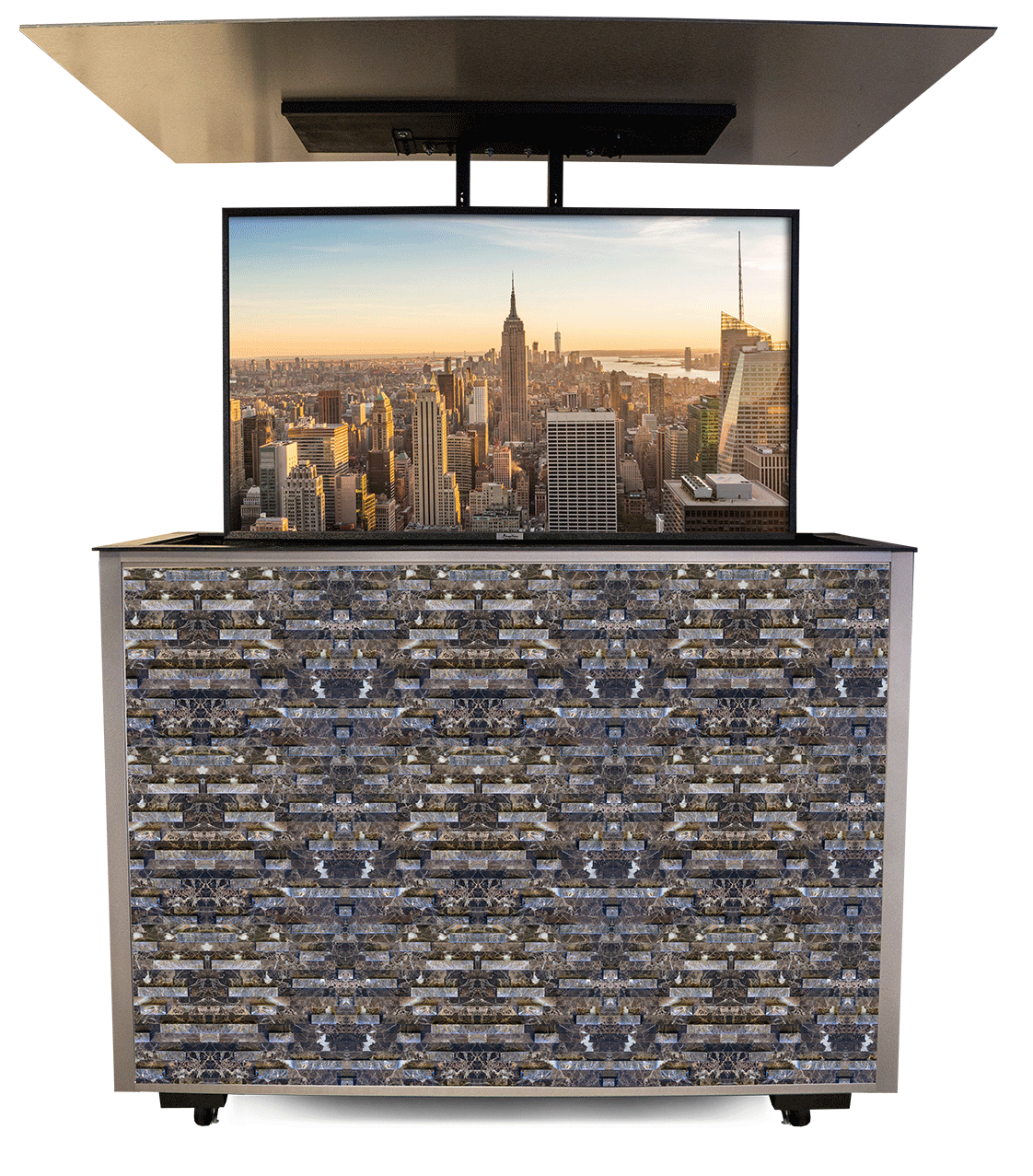 tv lifts and cabinets outdoor tv tvs outdoor entertaining on outdoor kitchen tv id=71609