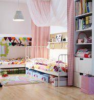 Une tapis peau de bête dans une chambre d'enfant - Marie Claire Maison