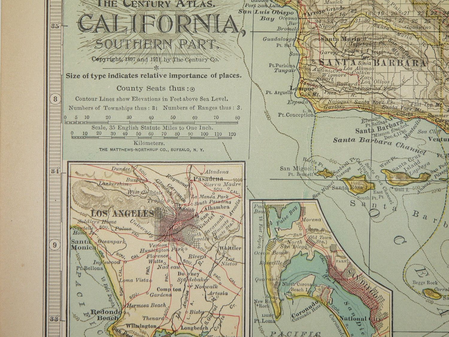 State Parks Southern California Antique 1911