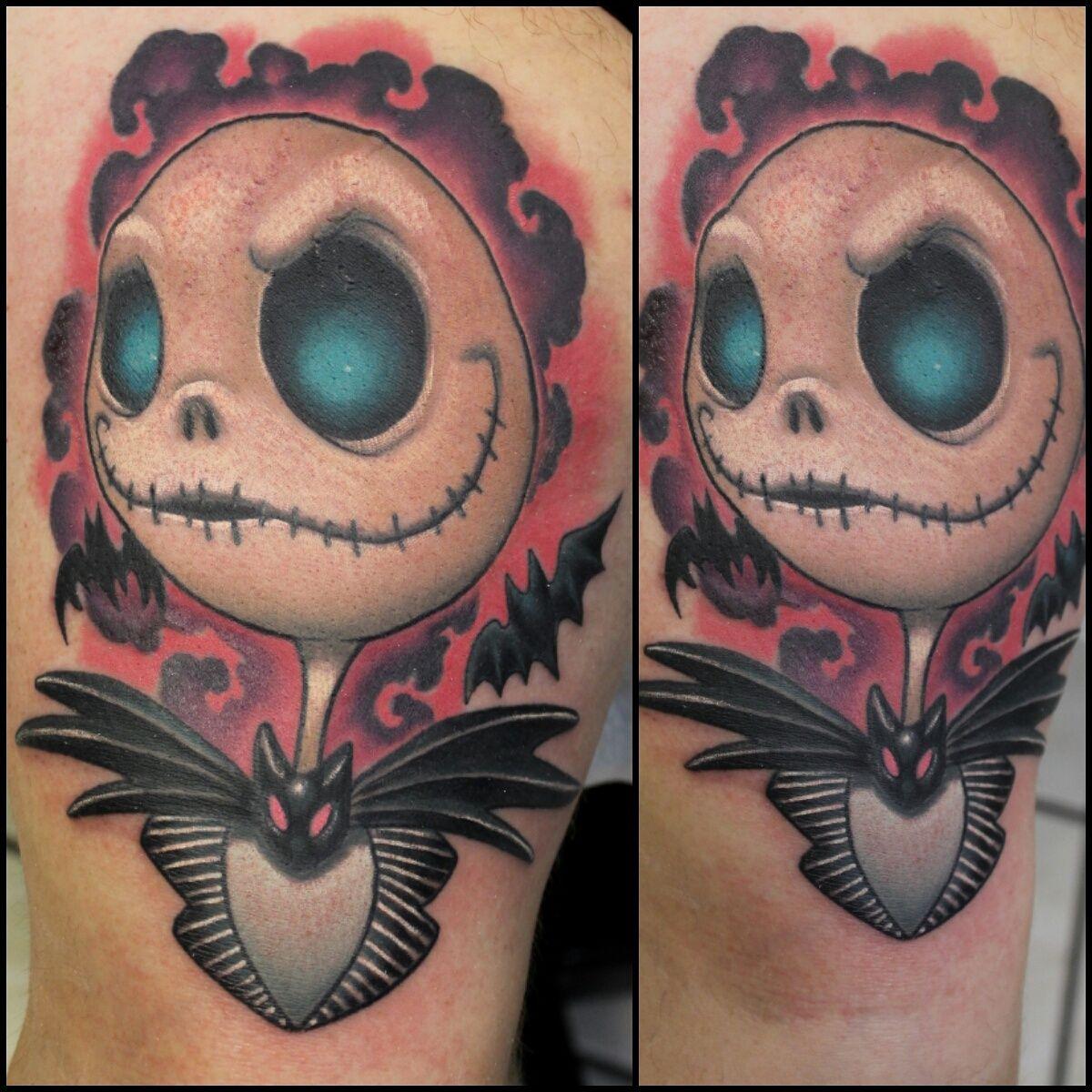 Jack Skellington by me (Tara Quinn) Dandyland Tattoo in