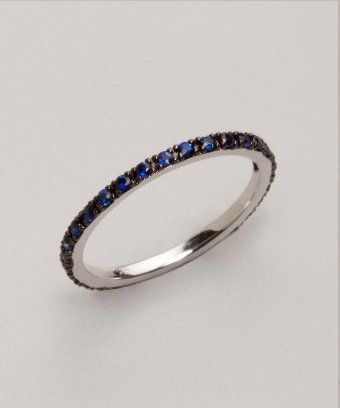 A different take on a wedding band.