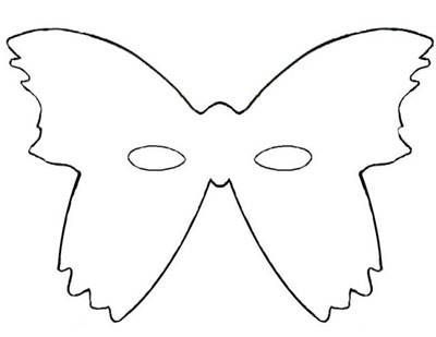 Butterfly Mask With Images Mardi Gras Mask Template Mask