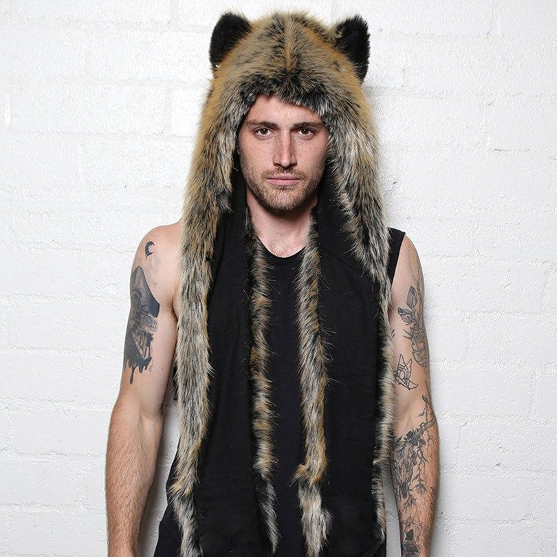 c3fdf37fa13 2016 new red wolf animal faux fur cap hat hoods now available on Affordable  Bestsellers website. 2016 new red wolf animal faux fur cap hat hoods.