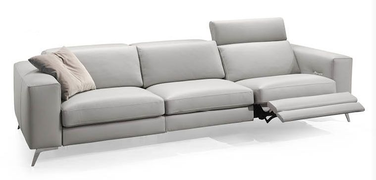 Contemporary sofa / fabric / 3-seater / reclining - MOVING ...