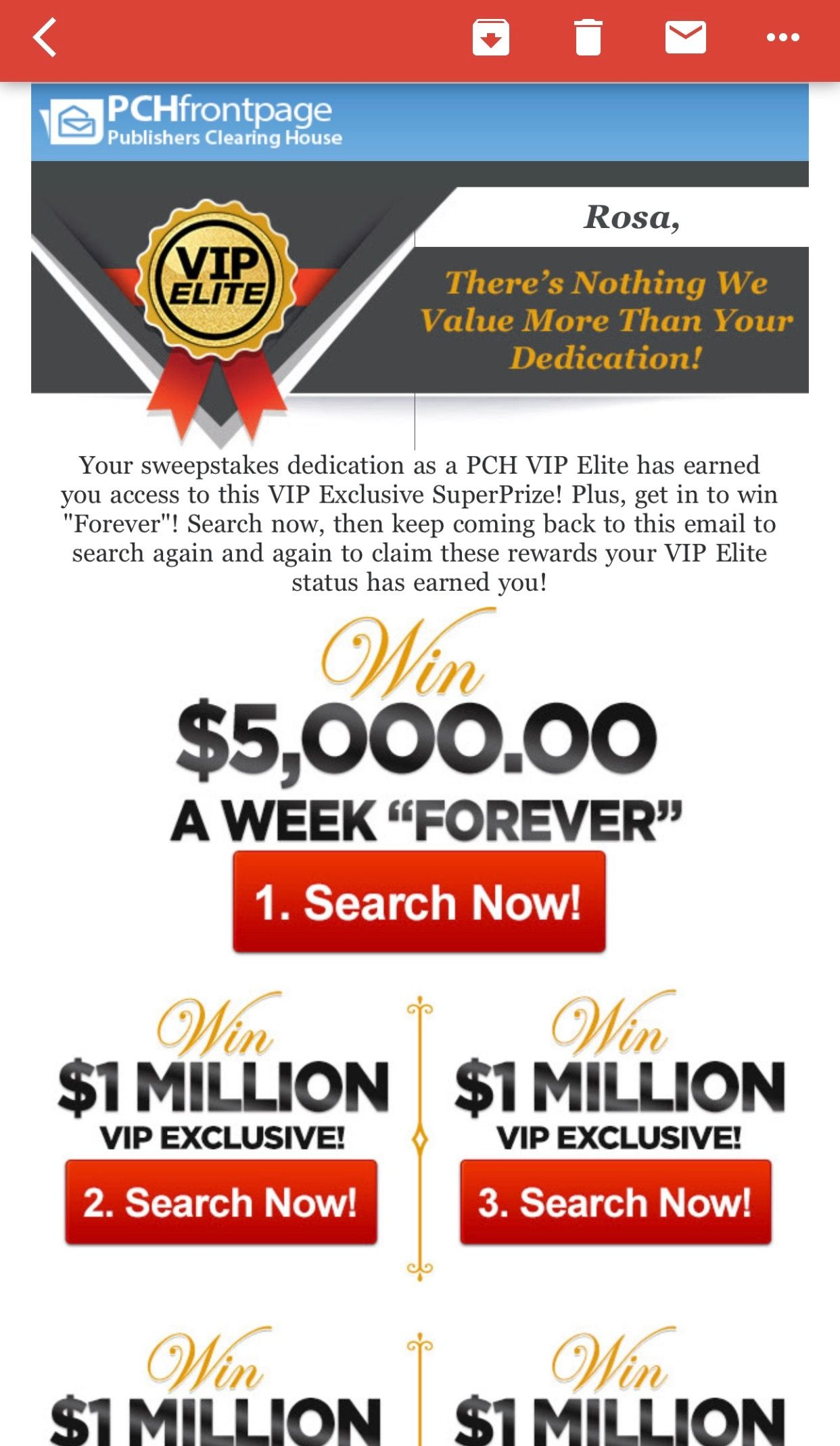 PCHFRONTPAGE VIP Exclusive SuperPrize I RRojas Claim my user