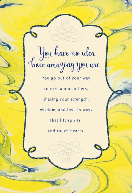 Download You're Amazing in Every Way Thank You Card   Thank you ...