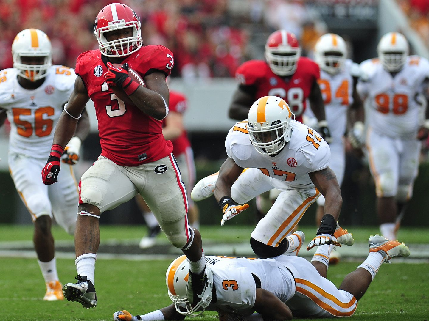 Todd Gurley Georgia Football Georgia Bulldogs Football Images