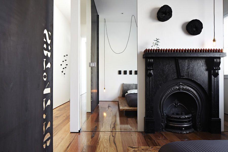 Interior Beautiful Street Extension Developed By Odr Architects In Melbourne Featuring Modern Interio Industrieller Stil Innendekoration Wohnzimmer Einrichten
