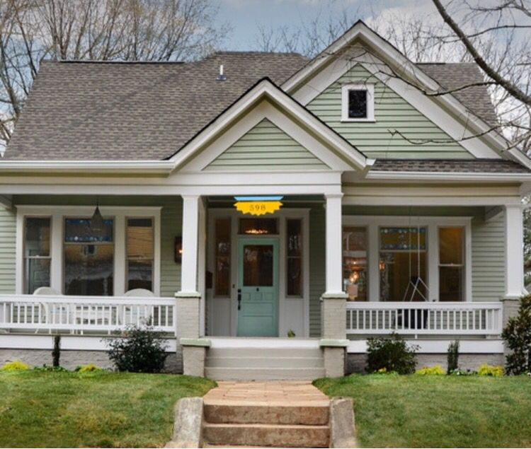 Atlanta Bungalow Renovation: Pin By Leticia On Beautiful Homes In 2019