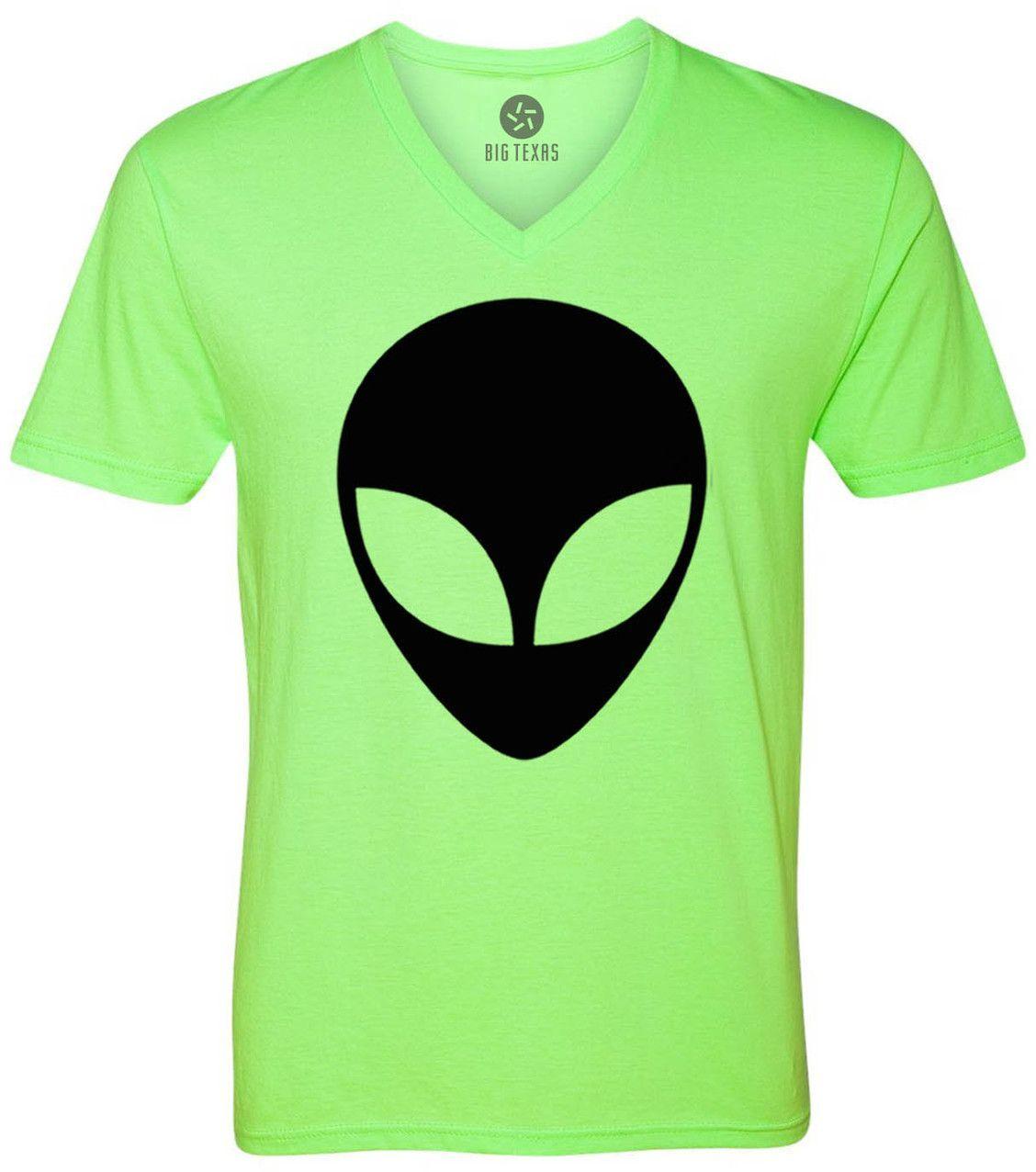 Alien (Black) Short-Sleeve V-Neck T-Shirt