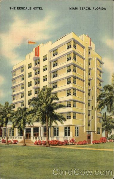 The Rendale Hotel Miami Beach Florida Art Deco