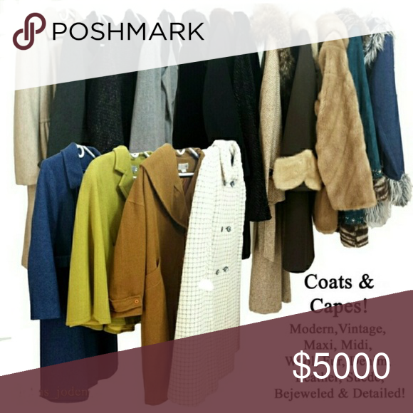 Coming Soon! Vintage Coats & Capes My Posh Picks