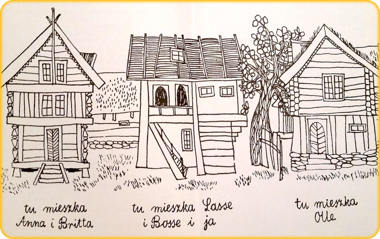 Znalezione Obrazy Dla Zapytania Dzieci Z Bullerbyn Ilustracje Olds Diagram Floor Plans