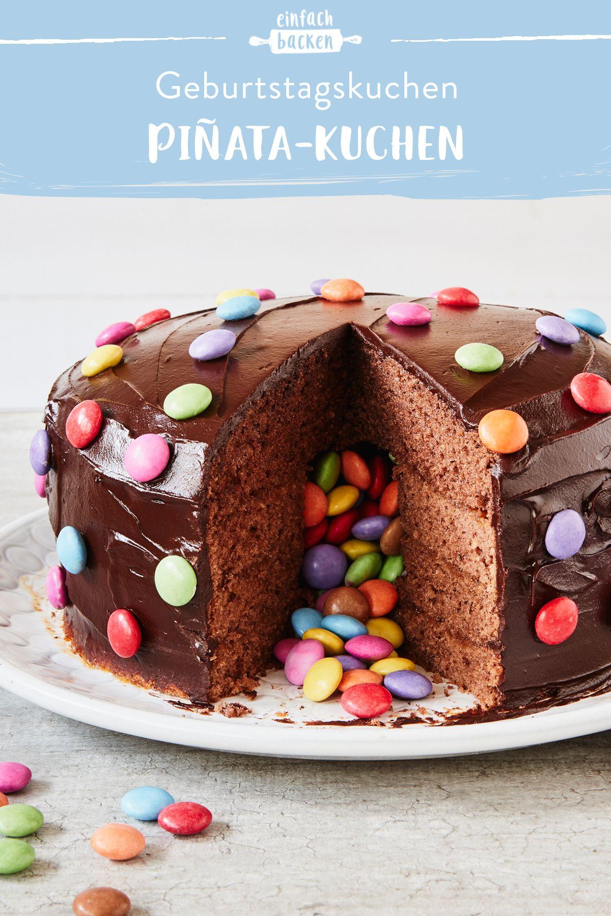Pinata Kuchen Rezept Zum Selbermachen Die Besten Backrezepte Mit Gelinggarantie Rezept In 2020 Pinata Kuchen Einfach Backen Kindertorte