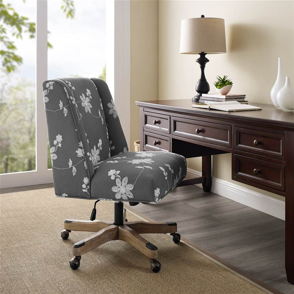 Linon draper office chair multiple colors and base