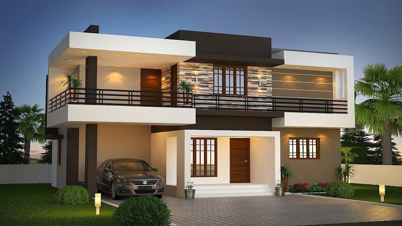 small budget 3bhk double floor house 1000 sft small modern double floor house 1000 sft for 10 lakh elevation