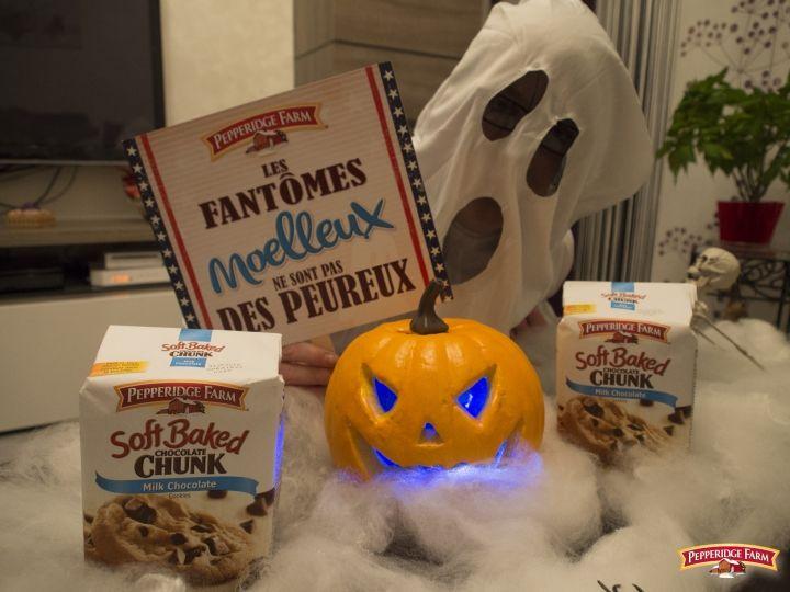 Les cookies #Pepperidgefarm entre les mains de la #TeamFantômes !