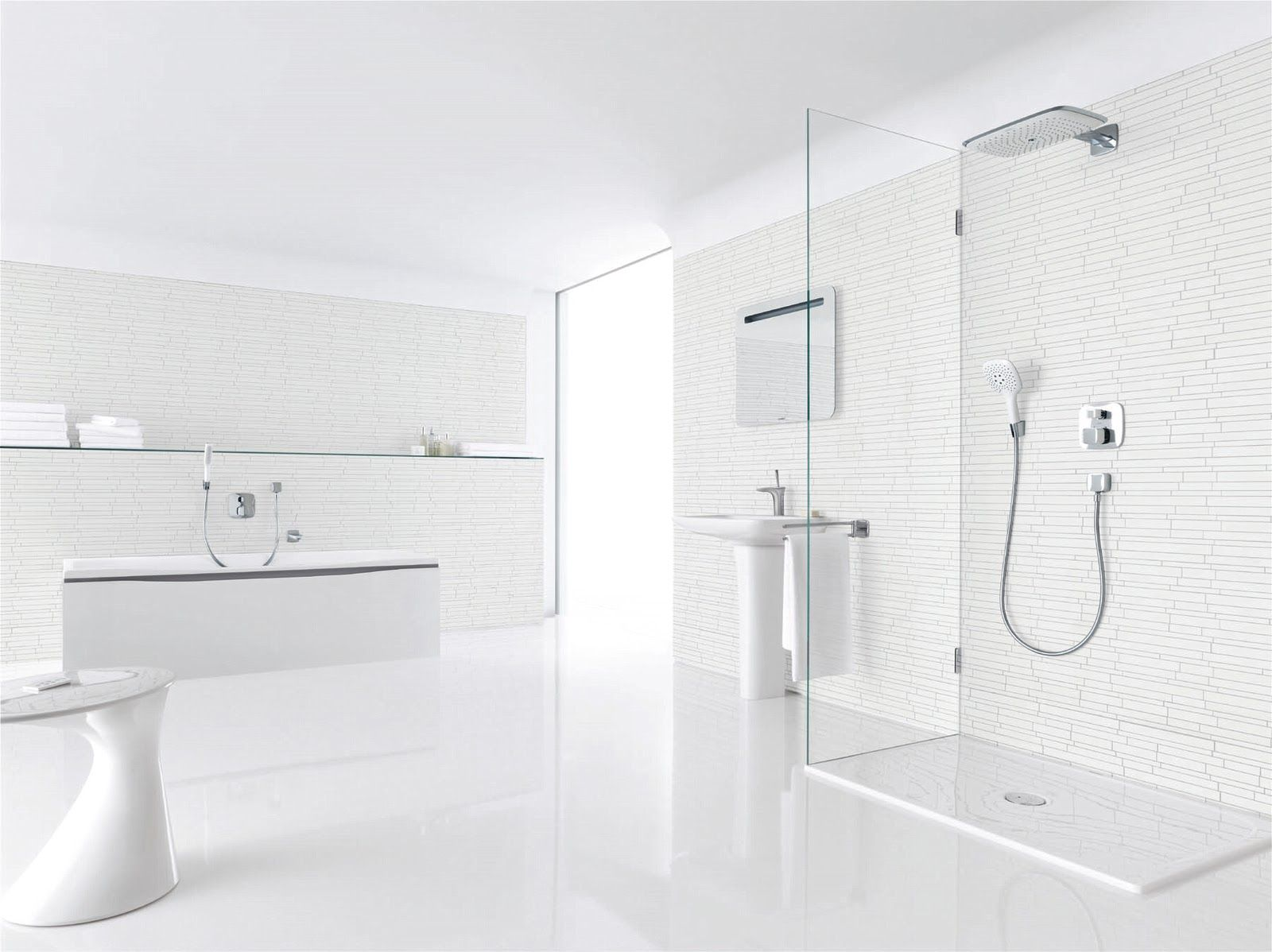 1000  images about bathroom on pinterest   traditional. All White Bathroom Pictures   kristybaby com