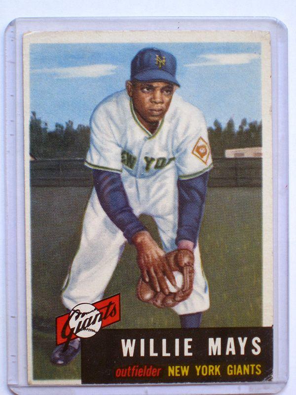 Baseball Cards Worth Money This Willie Mays Baseball Card