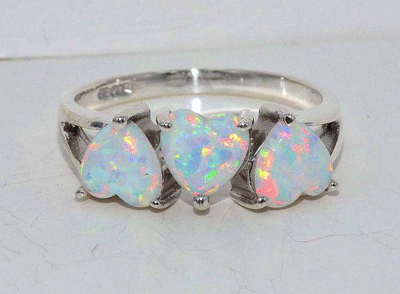 Opal /& Diamond Heart Bracelet .925 Sterling Silver Dainty Gift For Her Jewelry Fashion Trend