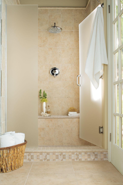 Brixton Sand Ceramic Tile Flooring Home Inspiration Living Room Interior Design Home De Bathroom Design Bathroom Floor Tiles Bathroom Interior Design