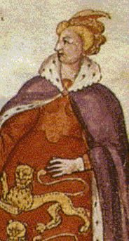Portrait of Joan of the Tower (1321–1362), c1350.